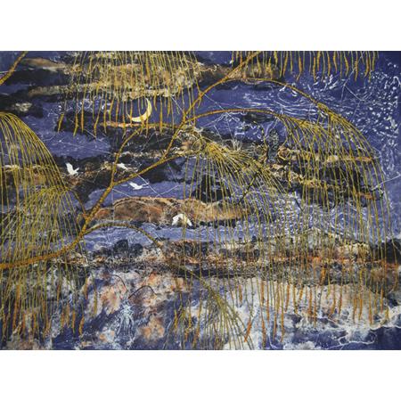 Fiona Hall, Casuarina - Mawurraki, Etching, 50 x 66 cm