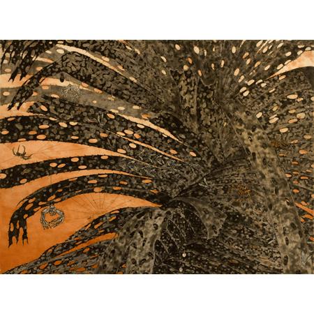 Fiona Hall, Pandanus - Gunga, Etching, 50 x 66 cm
