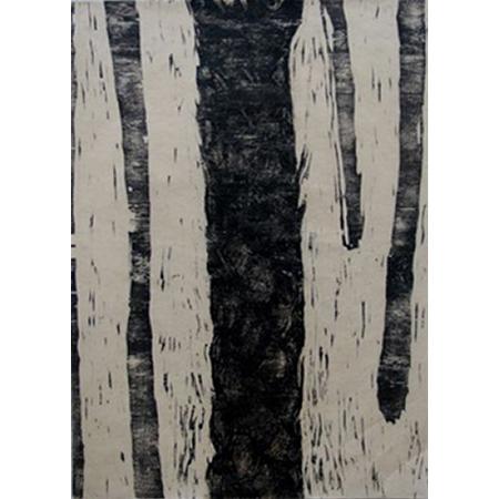 Basil Hall, Sand Palm 1, Multi-block woodblock (hand printed) on awaki, 76 x56cmocut, 2006