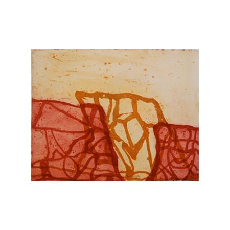 Alison Walbungara, Yarrenyty, etching 2011