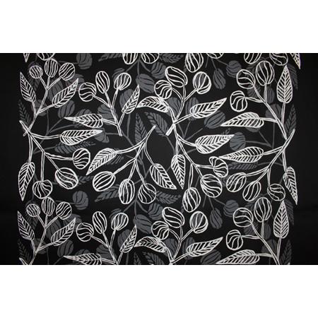 Deborah Wurrkidj, Bush Apples, acrylic pigment on silk, screen printed by hand, panel