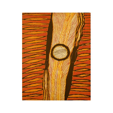 Gawirrin, Gumana Baraltja, etching 50 x 39cm, ©2008