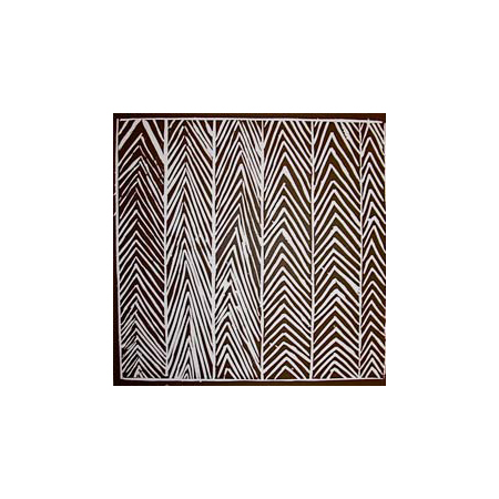 Shirley Banalanydju, Lungurrma (North-east Wind), linocut, Bula'bula Arts