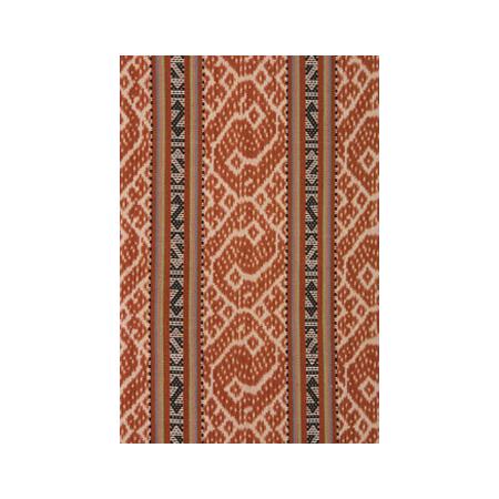 Dina Nahak, Kaun Tup Hitu (Sleeping Snake) tais mutin (Man's cloth wrap) cotton and natural dyes detail 2008
