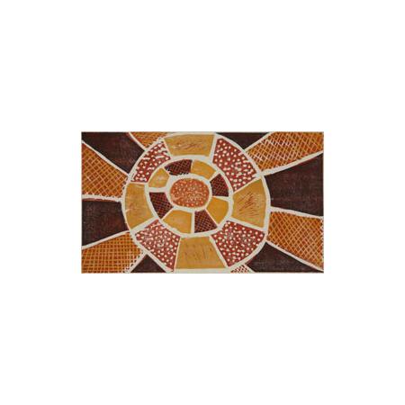 Maria Josette Orsto, Kulama, Japanese-style woodcut, © 2010 Tiwi Design.