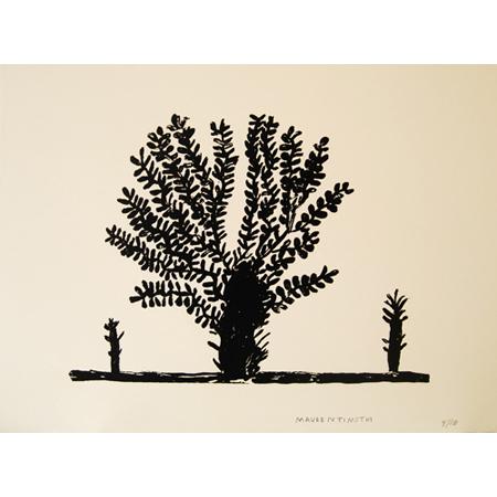 Bloodwood Tree, silkscreen by Marjorie Keighran