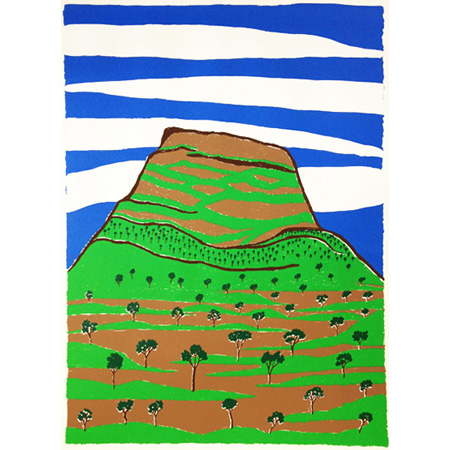 Gorlotor (MT McMinn), screen print by Faith Thompson