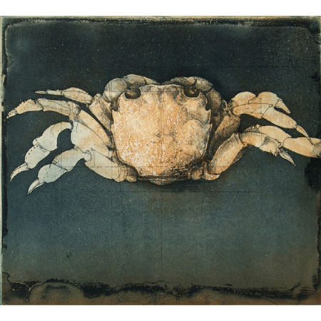 Large Crab, etching,