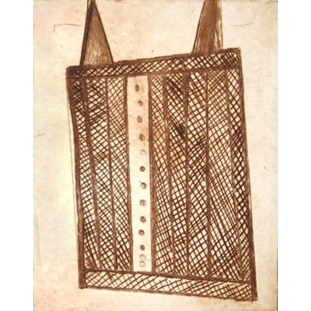 Body Design, etching by John Bulunbulun (Dec)