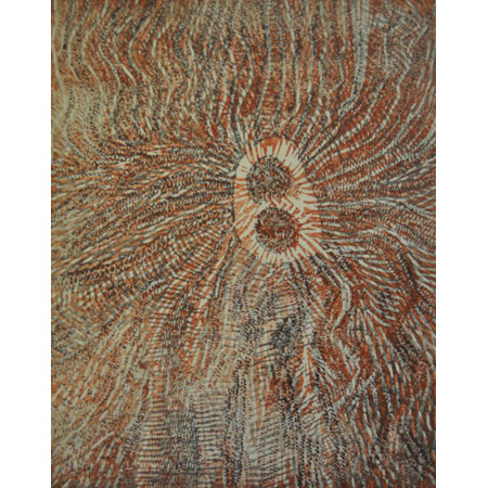Truriljarra, woodcut by Sidney Moody