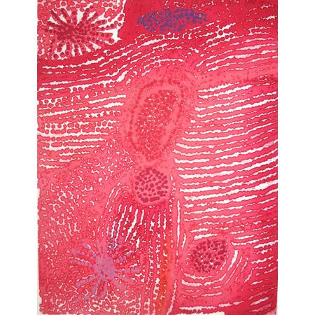 Parwalla, etching by Elizabeth Nyumi
