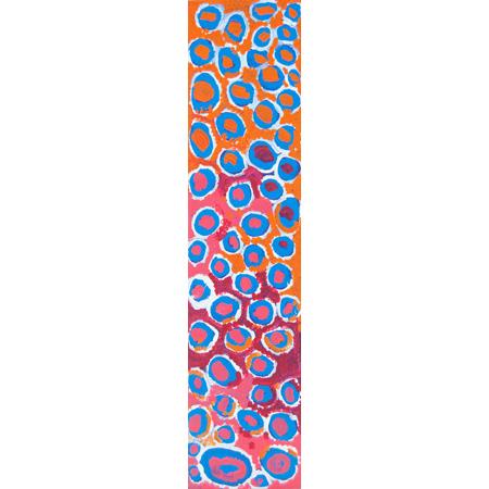 Minpearrli (plum), Acrylic on linen, 128 x 30 cm, 2004