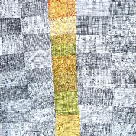 Coolamon, acrylic on linen, 124 x 125 cm, 2014 - $3275