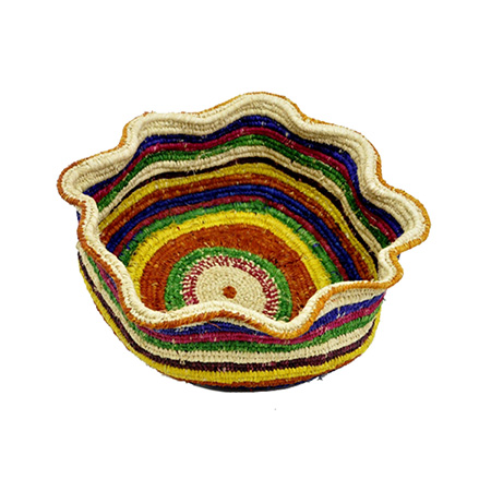 Raffia Basket by Margaret Smith