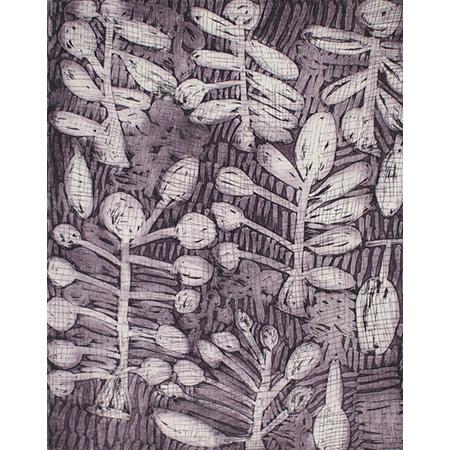 Mowdarri, etching by Nyapanyapa Yunupingu