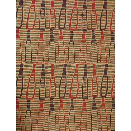 Robyn Djunginy, Bottles, screenprint on fabric
