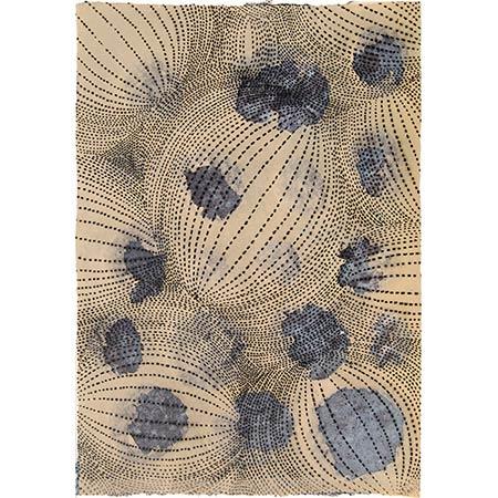 Big Bang, handmade paper, 60 x 42cm