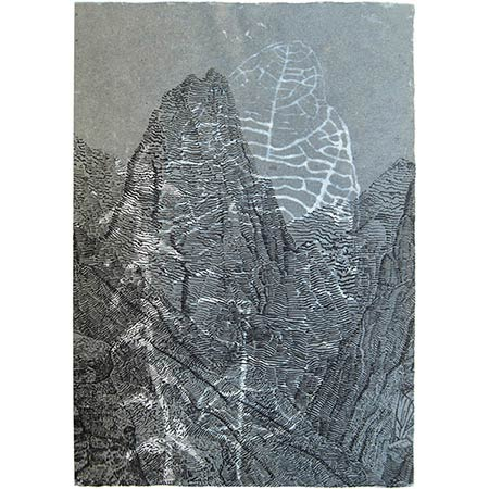 Sustain, handmade paper, 60 x 42cm