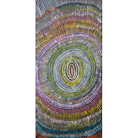Walipan, acrylic on canvas, 70 x 33 cm, 2015 - SOLD