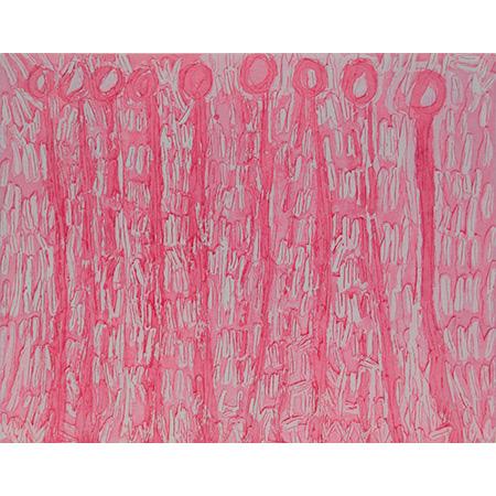 Kurrkapi, etching by Lisa Uhl, 19.5 x 24.5 cm