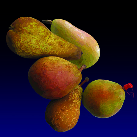 Pere - Pears, limited edition digital print