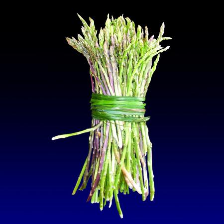 Sparaci - Asparagus, limited edition digital print