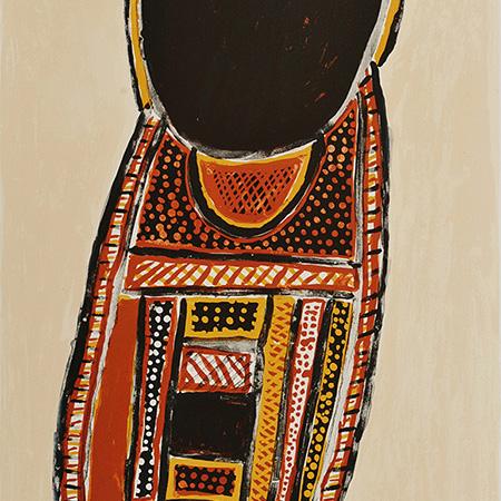 Tunga, etching by Jean Baptiste Apuatimi (dec)