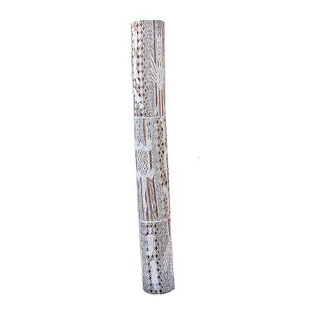 Moyurrurra Wunungmurra, 'Buyku' Larrakitj, 160 x 20 cm