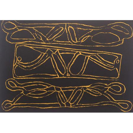 Regina Pilawuk Wilson /String Figure, silkscreen, 2018