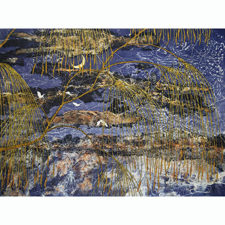 Casuarina – Mawurraki, etching by Fiona Hall
