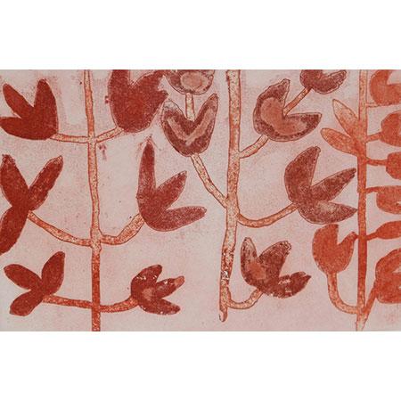 Gurrumu, etching byMulkun Wirrpanda,32 x 49 cm